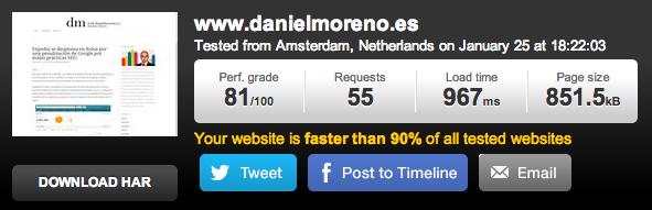 Nuevo servidor Daniel Moreno